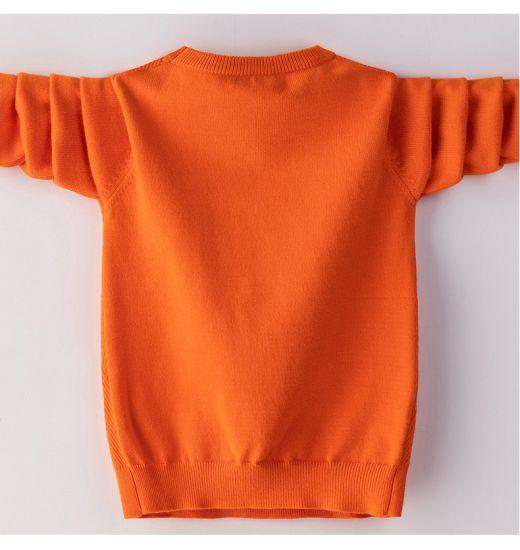 2020 Kid′s Sweater 50% Merino Wool 50% Acrylic Pullover jacquard Machine Washable