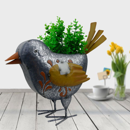 Animal Pigeon Shaped Flower Pot for Home Decoration