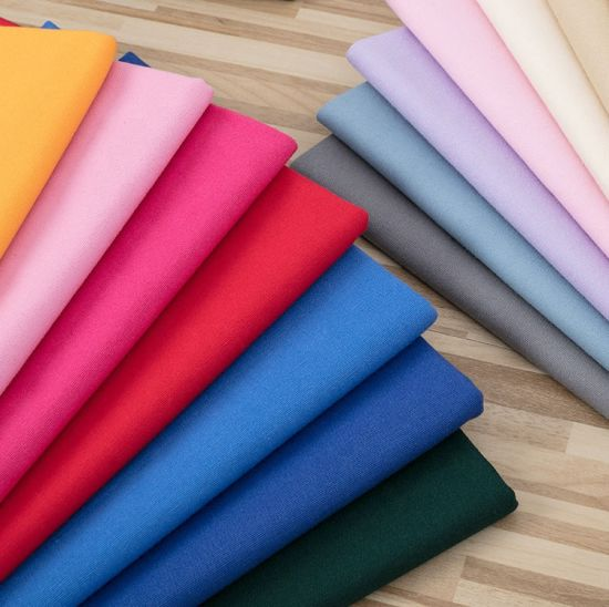 Soft Handfeel Dyed Shirting Fabric China Factory Producer with Good Colorfastness