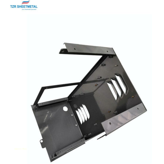OEM Custom Sheet Metal Fabrication Louver Stamping Laser Cutting Products