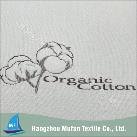 Organic Cotton Jacquard Knitted Fabric for Mattress Thicking