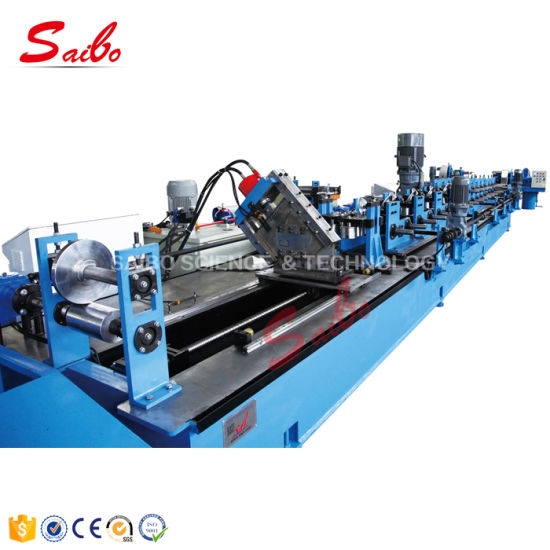 Fast Speed C Track Cutting Roll Forming Machine for Sale