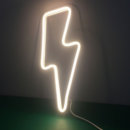 Easy Operate Wall-Mounted Customized Small LED Neon Sign for Holiday