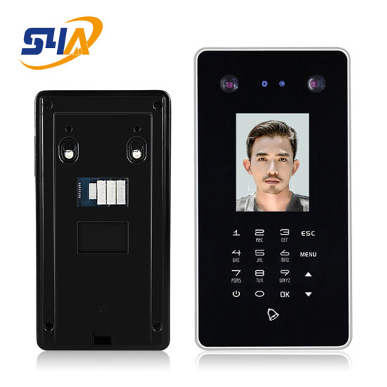 2.8inch Biometric Facial Recognition Access Control with Door Keypad and Doorbell