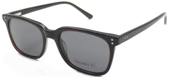 Vintage Square Sunglasses, Transparent Tortoise Shell Eyewear Frame