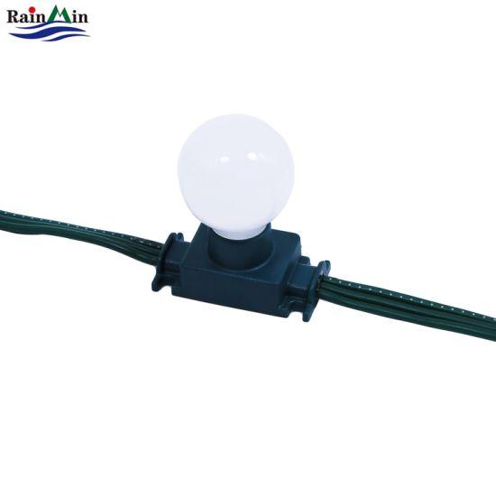 180 Degrees 12V RGB LED String Light for Outdoor Use
