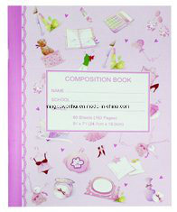 248*190mm Colored Marble Composition Book pictures & photos