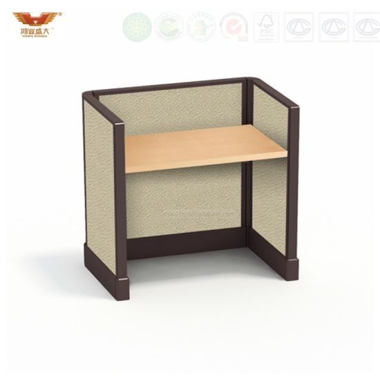 China Simple Single Staff Table Partition Wooden Office