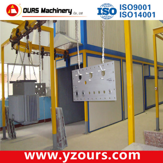Powder Coating Machine with Small Cyclone Recovery System pictures & photos