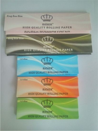 13GSM Cigarette Paper King Size Slim OEM pictures & photos
