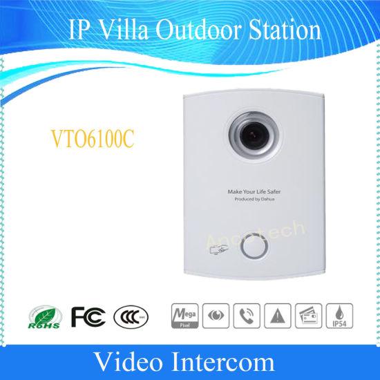 Dahua Video Intercom Video Doorbell IP Villa Outdoor Station (VTO6100C)