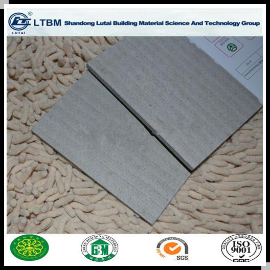 6mm Non Asbestos Fiber Cement Board Exterior Fireproof Wall