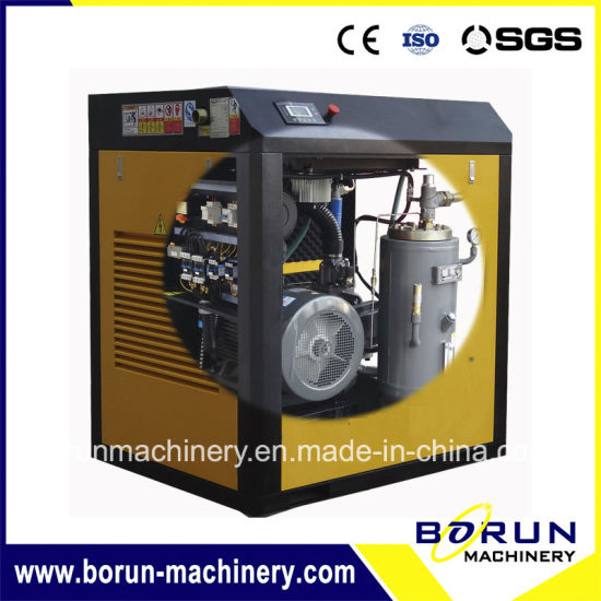 10 Bar Industrial Rj Screw Type General Air Compressor for Commercial Usage pictures & photos