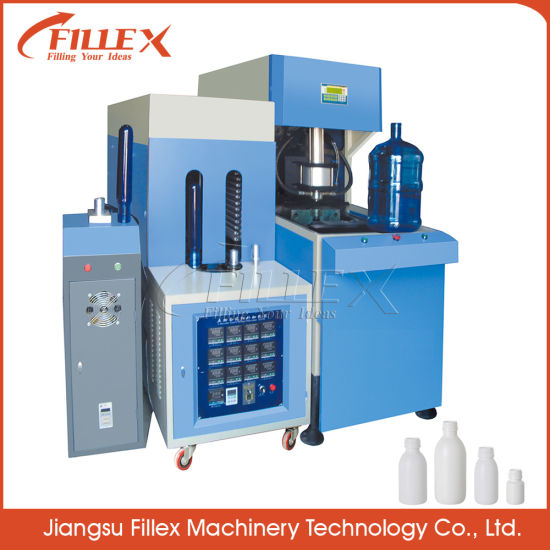 3 & 5 Gallon Semi-Automatic Plastic Bottles Extrusion Machine Blow Moulding Machine for PP/PE Bottles