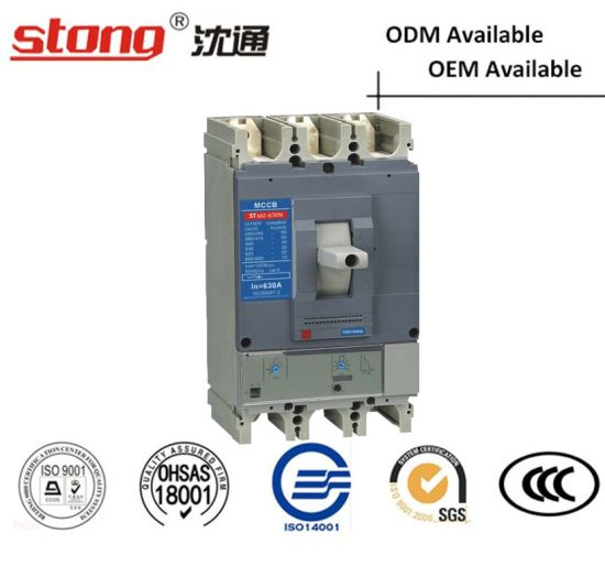 Stm2-400A 630A Moulded Case Circuit Breaker MCCB with Parameters pictures & photos