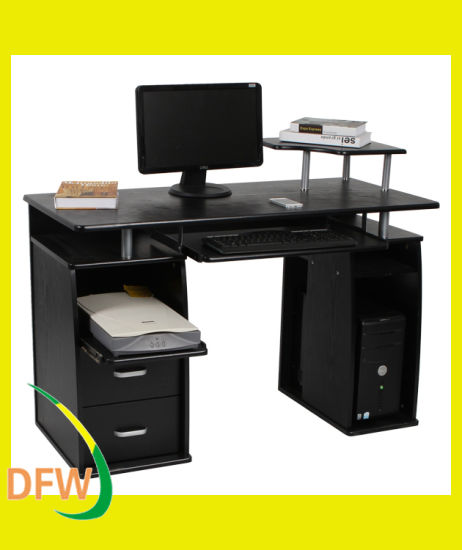 Modern Office Furniture Wooden Computer Table Desk For Laptop