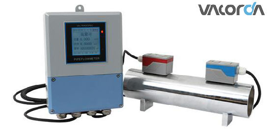 Digital Display Ultrasonic Flow Meter for Liquid