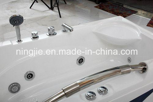 White Color Bubble Water Massage Bath Tub (551) pictures & photos