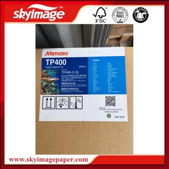 High Quality Mimaki Tp400 Textile Pigment Ink (2 Liter/Bag) for Tx300p-1800  Printer