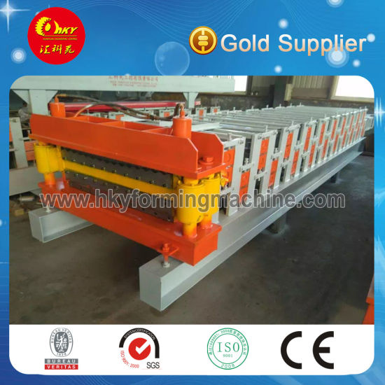 Steel Roof and Wall Panel Cold Roll Forming Machine pictures & photos