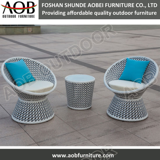 Super Modern Outdoor Furniture Rope Woven Lounge Chair High Back Leisure Chair Set Ibusinesslaw Wood Chair Design Ideas Ibusinesslaworg