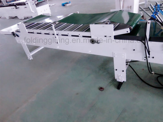 Pre-Fold Straight-Line Automatic Medicine Box Folding Gluing Machine (GK-780B) pictures & photos