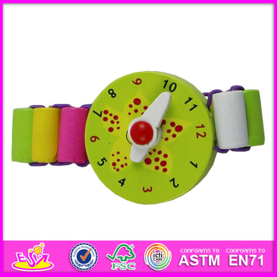 2014 New Wooden Kids Toy Watch, Popular Kids Toy Watch, Fashion Kids Toy Watch, High Quality Wooden Kids Toy Watch W08k017 pictures & photos