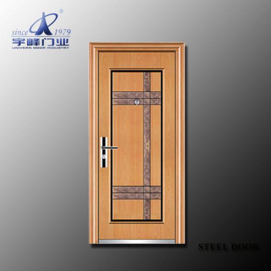 China Panel Door Hollow Metal Door - China Steel Security Door ... on