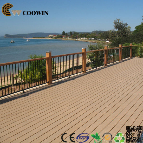 Art Color 3D Deep Embossing WPC Decking Floor pictures & photos