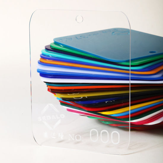 High Quality Virgin PMMA 3mm Clear Cast Acrylic Sheet Price pictures & photos