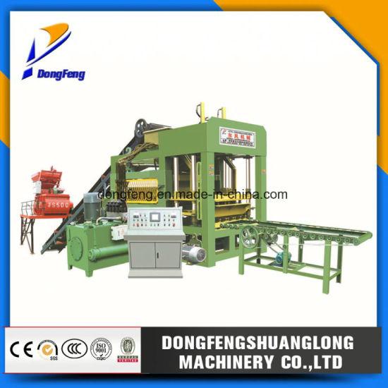 Qt6-15 Automatic Block Making Machine /Hydraulic Brick Making Machine