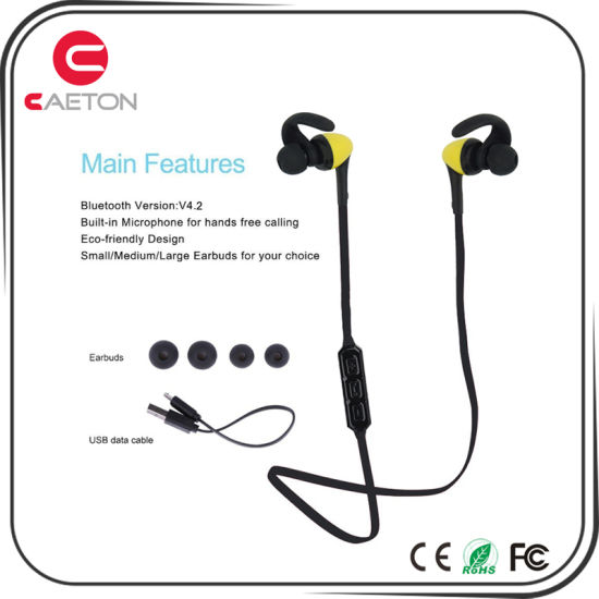 Invisible Bluetooth Wireless Earphone For Mobile Laptop China Earphone With Microphone Bluetooth Earphone Made In China Com
