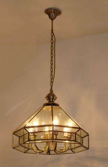 Brass Pendant Lamp with Glass Decorative 18995 Pendant Lighting pictures & photos