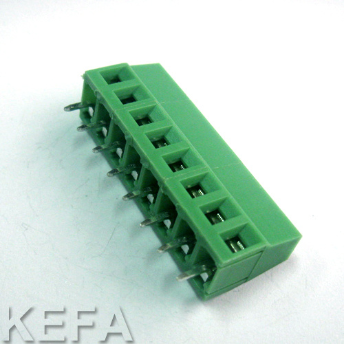 UL/VDE Approved Screw PCB Terminal Block with Rising Clamp pictures & photos