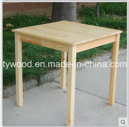 Dining Room Furniture Made of Solid Pine Wood pictures & photos