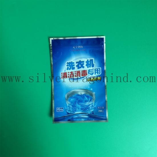 Printed 3 Side Sealing Bag for Washing Powder Packing
