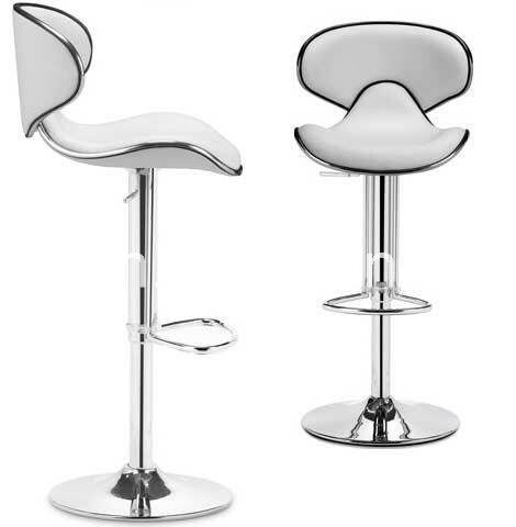 Remarkable Adjustable Swivel Leather Bar Stools Hydraulic Counter Pdpeps Interior Chair Design Pdpepsorg