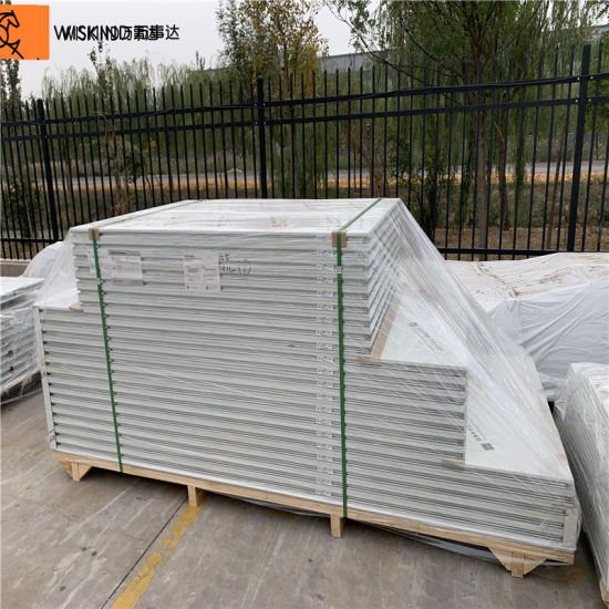 Metal Rock Wool Sandwich Panel for Prefabricated House pictures & photos