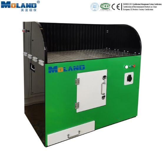 Mobile Polishing Dust Removal Table Grinding Dust Downdraft Table Industrial Dust Dedusting Workbench