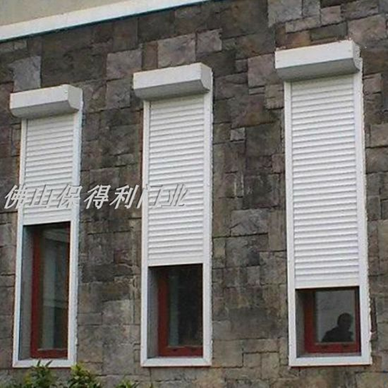 European Rolling Shutter Window Aluminum Alloy Door Balcony Rolling Gate Glass Security Door Stainless Steel Door