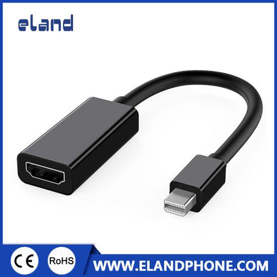 (Black color) Mini Displayport to HDMI Adapter Cable 1080P