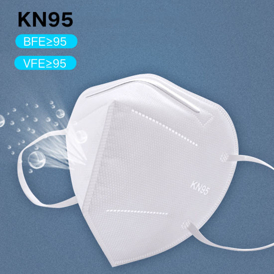 Wholesale Protective 5 Ply Disposable Respirator Dust KN95 Face Mask