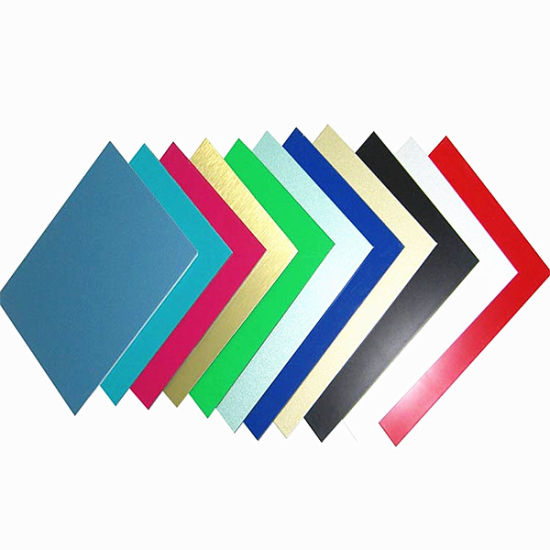 5mm Thick Prepainted Decoration Material Wall Panel Aluminum Sheets