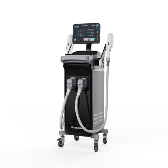Salon Facilities Imported Lamp Ce Approval IPL Hair Removal Machine Vertical Beauty Equipment IPL Germany Skin Solution