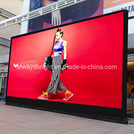 Outdoor Full Color Video Display P4.81 Rental LED Panel for Advertising