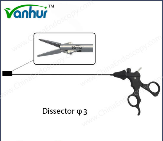 3mm Instruments Laparoscopic Dissecting Forceps