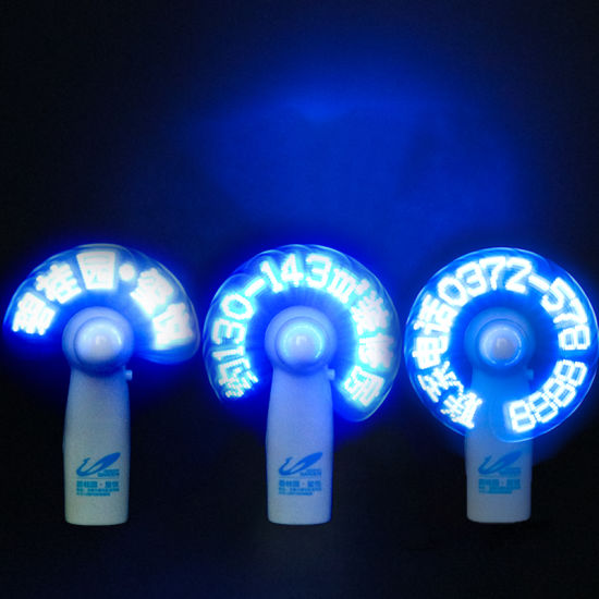 Manufacture LED Light up Mini Exhaust Fan for Promotion