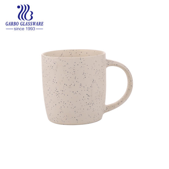 Hot Sale Porcelain Mug Coloured Glaze Coffee Cup Pink Colour with Spot Tc0903400-C pictures & photos
