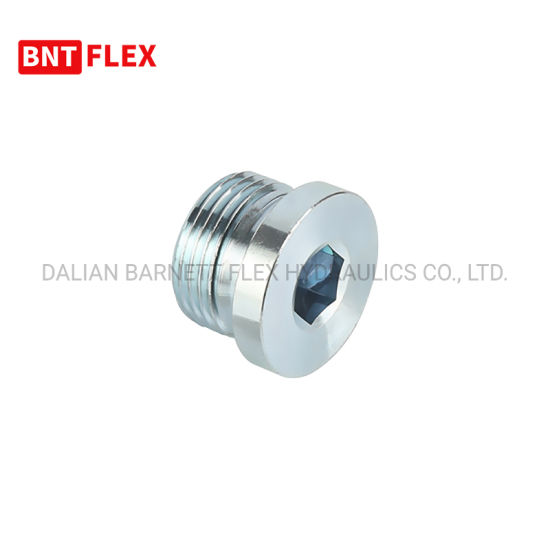 High Quality Reusable Metric Male 24 Degree Hydraulic Hose Fitting with O-Ring