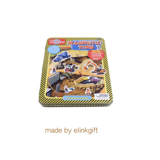 Customized Printing Toy Packaging Metal Tin Box with Game Cards Metal CD Box